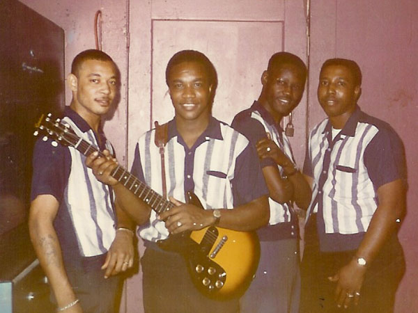 Ernie and the Joe Valentines Band - Baton Rouge, LA 1965