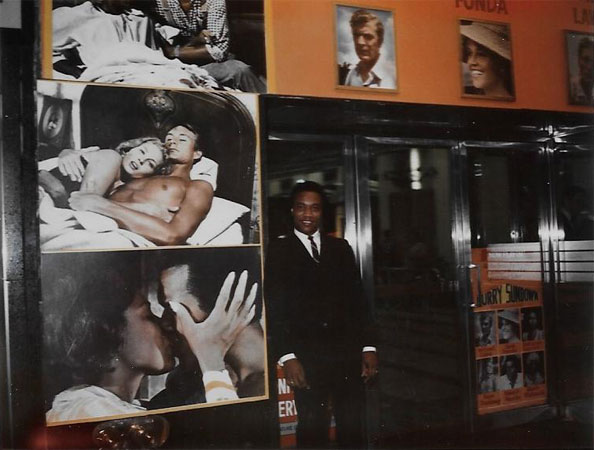 Ernie at Hurry Sundown '67 premiere Chicago